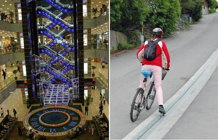 Cамые необычные эскалаторы со всего мира.