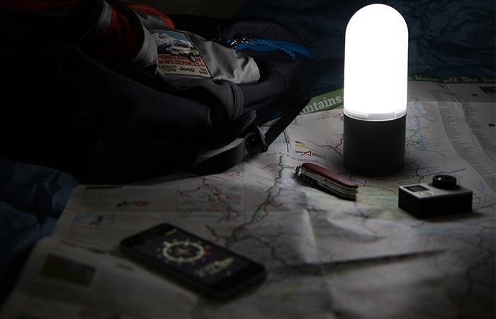 Estream можно использовать в качестве фонаря.
