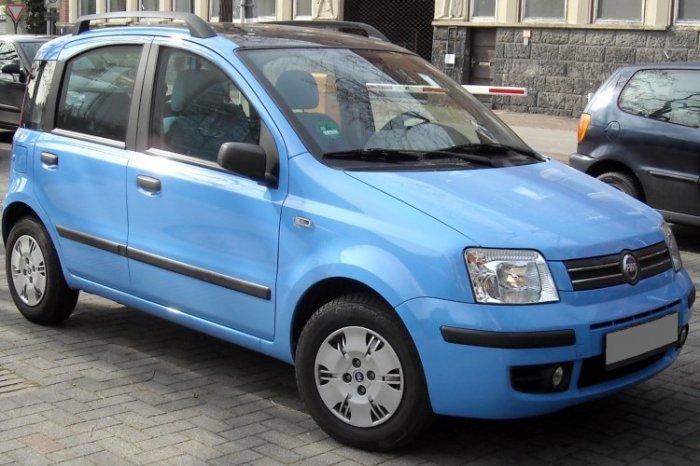 Охотно берут и Fiat Panda, особенно в Италии.