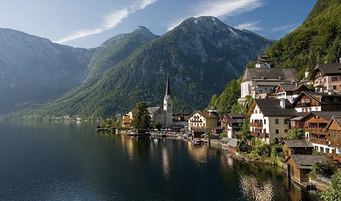 Гальштатт, Австрия.
