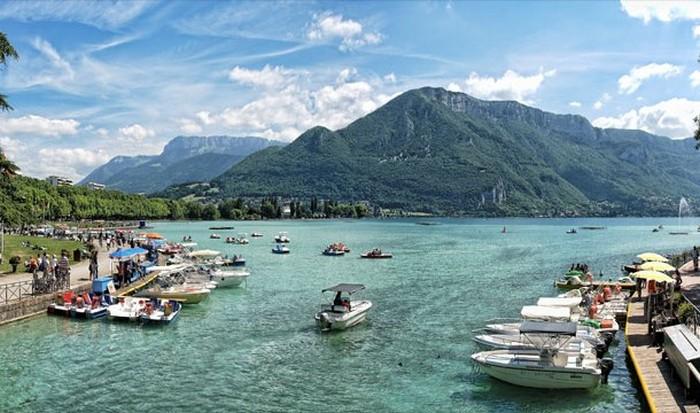 Озеро Анси, Франция.