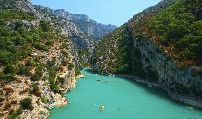 Вердонское ущелье, Франция.