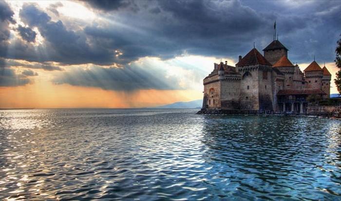 Озеро Женева, Швейцария / Франция.