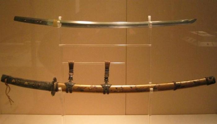 Катана эпохи Камакура.