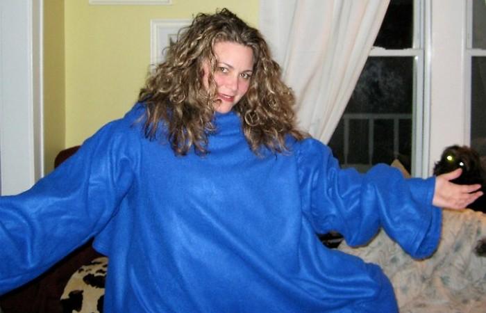 Вредная привычка: ходить в пижаме.