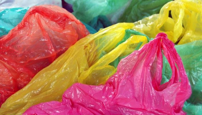 Пластиковые пакеты.