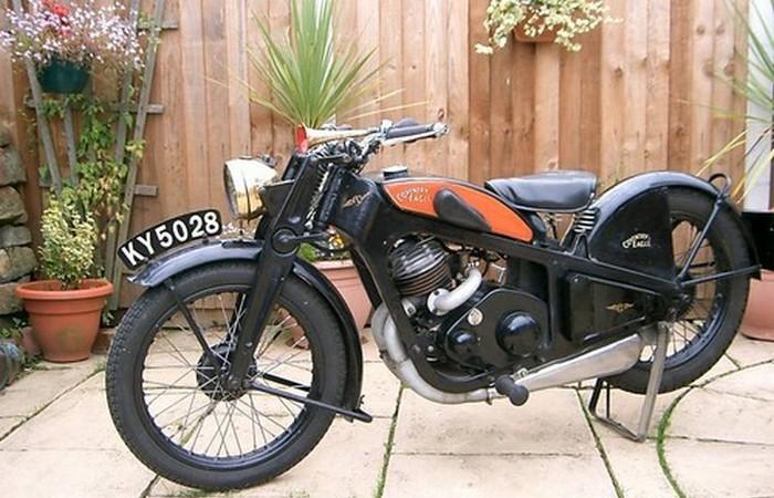 Мотоцикл Coventry Eagle.