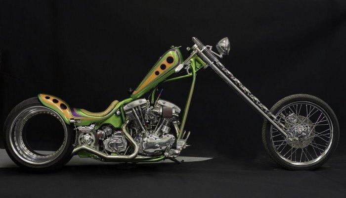 Байк Hub less Harley Davidson.