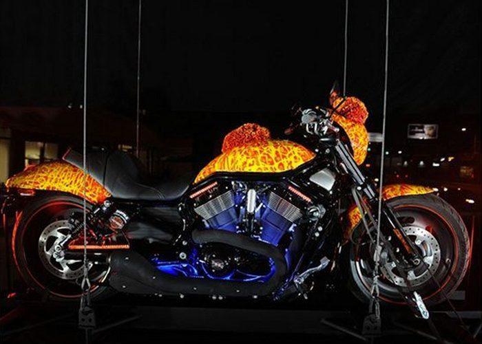 Роскошный байк Harley Davidson Cosmic Starship.