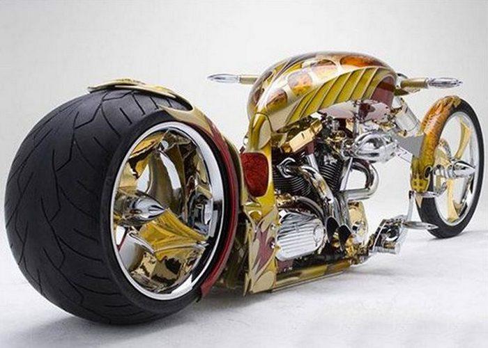Роскошный байк Yamaha BMS.