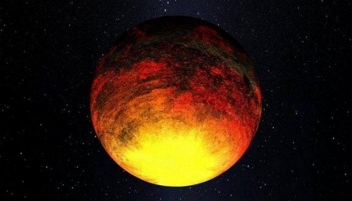 Планета «Выжженный мир».