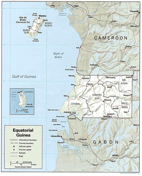 Урека (остров Биоко, Экваториальная Гвинея).
