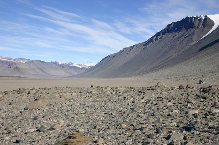Сухие долины МакМердо (Антарктида).