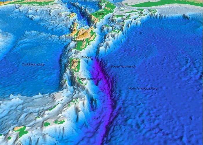 Глубина Милуоки, Пуэрто-риканский желоб (Атлантический океан).