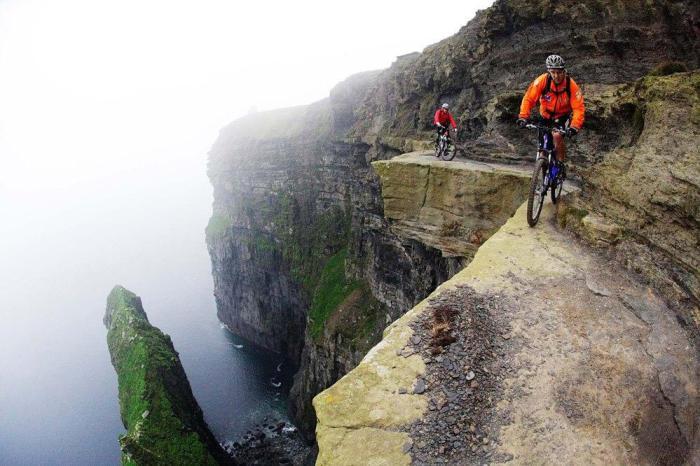 Велосипедна стежка Мохер - Ірландія.