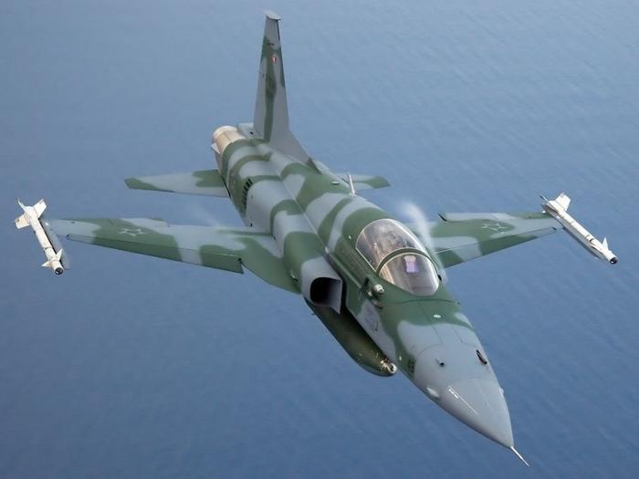 Истребитель F-5 Tiger II.