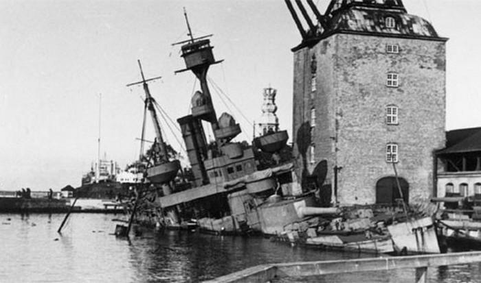 Затопленный флот.
