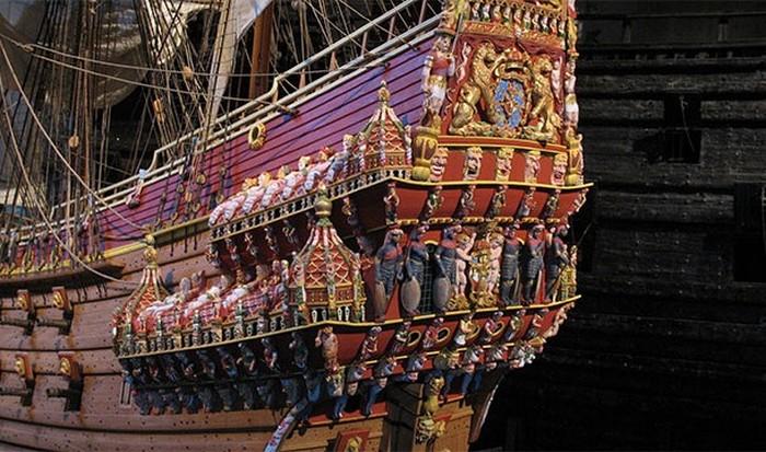 Шведский корабль Васа.