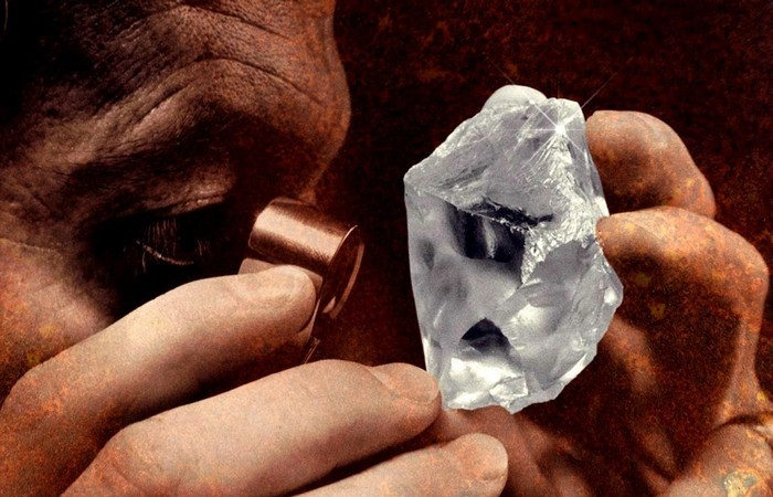 Алмазы используются для промышленных целей.