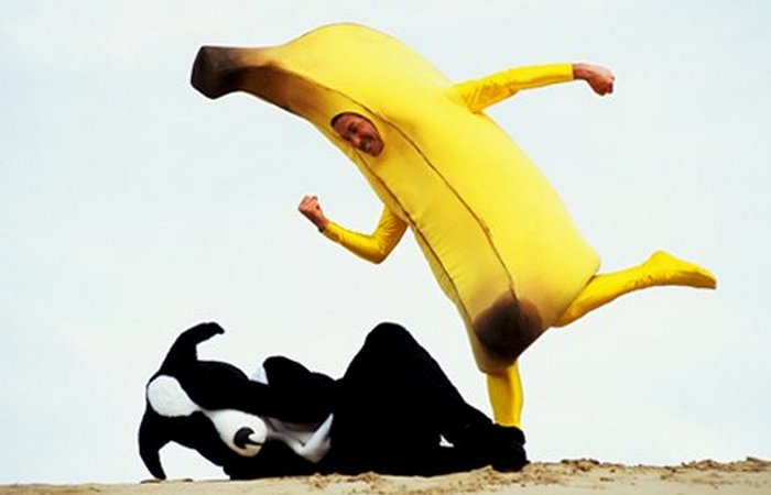 Человек-банан.