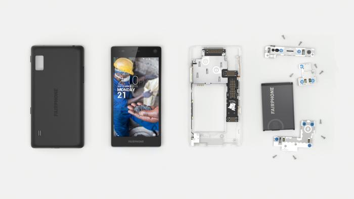 Модульный смартфон Fairphone 2.