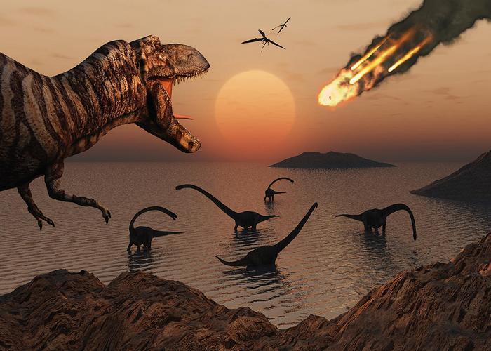 Лженаучный факт: воздействие астероида истребило всех динозавров.
