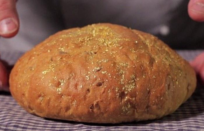 Причудливое лакомство: самый дорогой хлеб в мире.