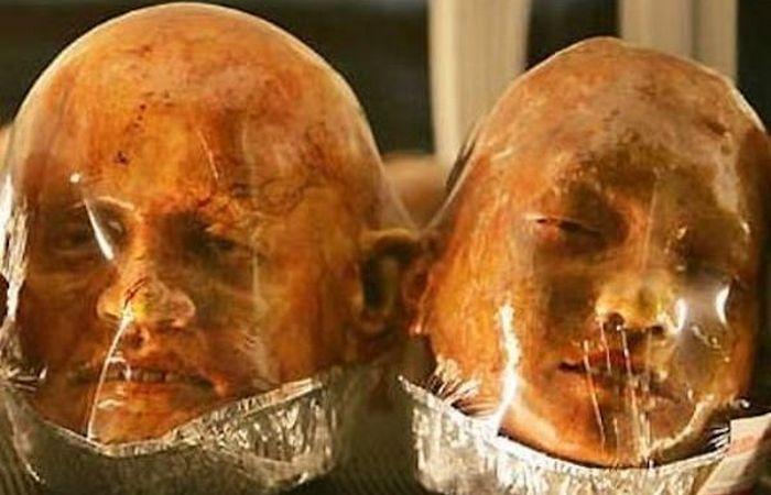 Причудливое лакомство: хлебные головы от Киттивата Унаррома.