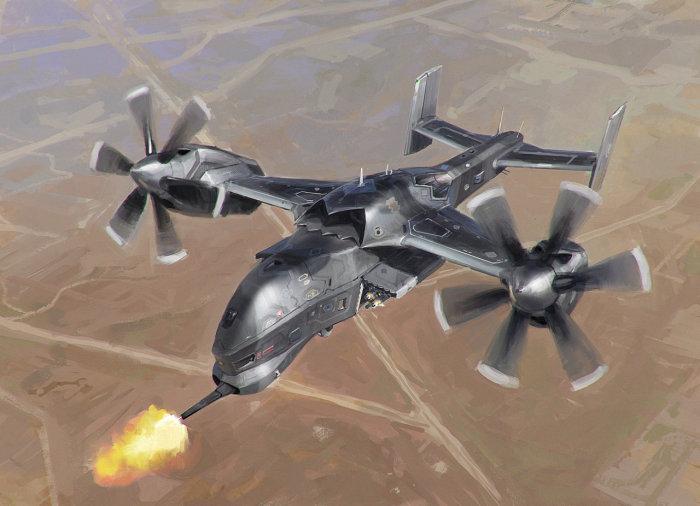 Вертолёт беспилотник - близкая реальность.