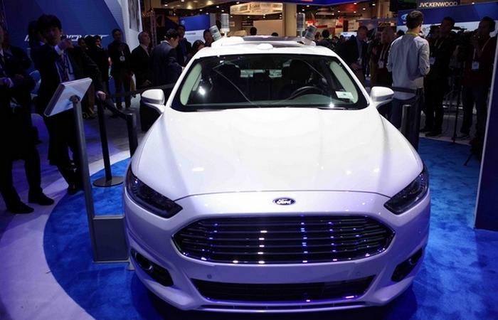 Ford Fusion Hybrid Autonomous Test Car.