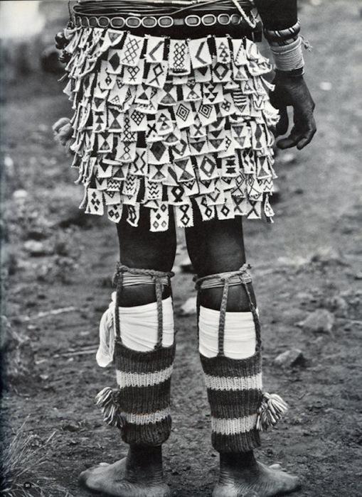 Удивительные наряды народа племени Транскея.