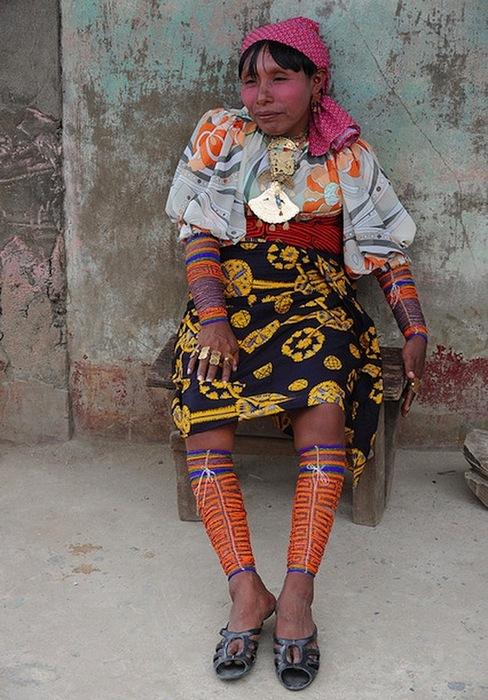 Красавица из племени куна.