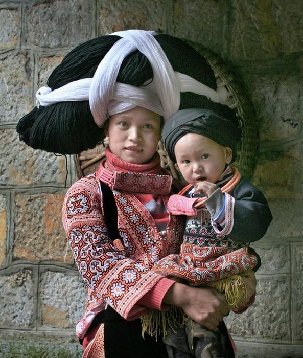 Парики-шляпы из Китая.