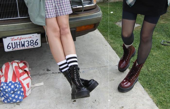 Ботинки Doc Martens.
