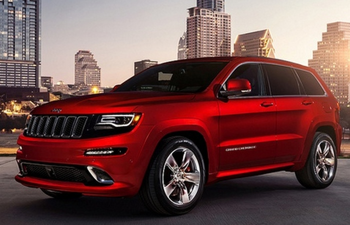 Jeep Grand Cherokee SRT.