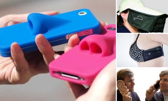 Cамые причудливые и нелепые гаджеты для смартфонов.