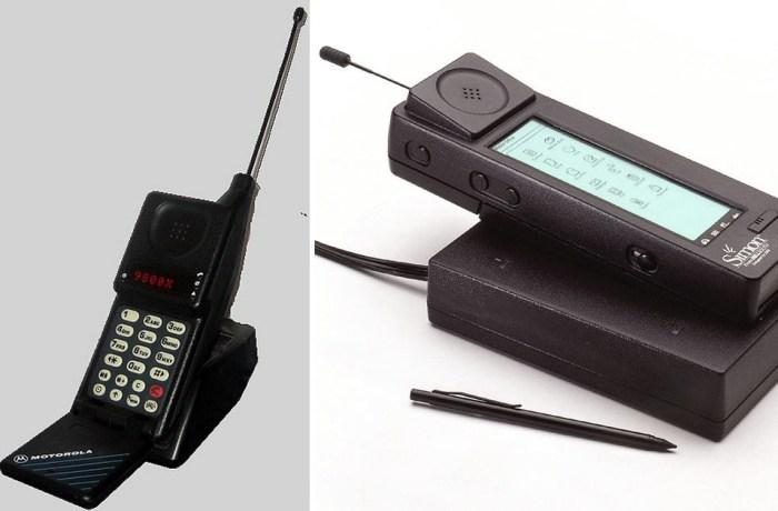 Такие маленькие телефоны...