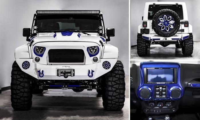 Кастомный «штурмовик» Jeep Wrangler, который продают на eBay по невероятной цене.