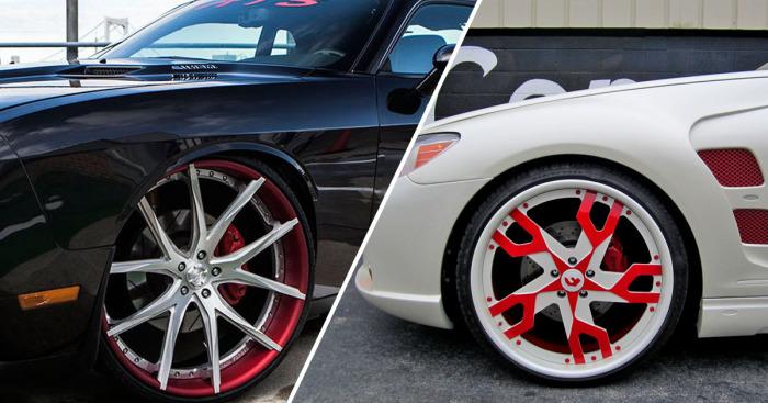 Самые дорогие в мире колёсные диски.