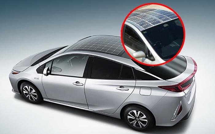 Автомобили Toyota получат «солнечную» крышу от Panasonic.