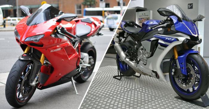 Самые быстрые мотоциклы.