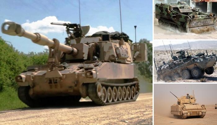 Самая мощная американская военная техника.