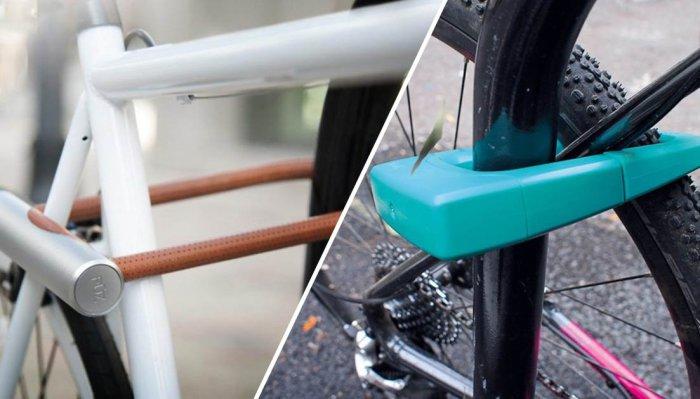 Самая надёжная защита для велосипеда.