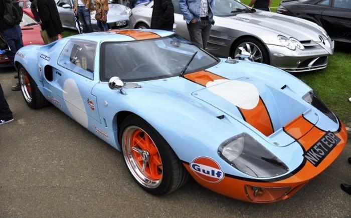 И ты, GT40.