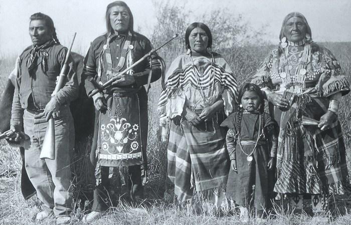 Индейцы шошоны.