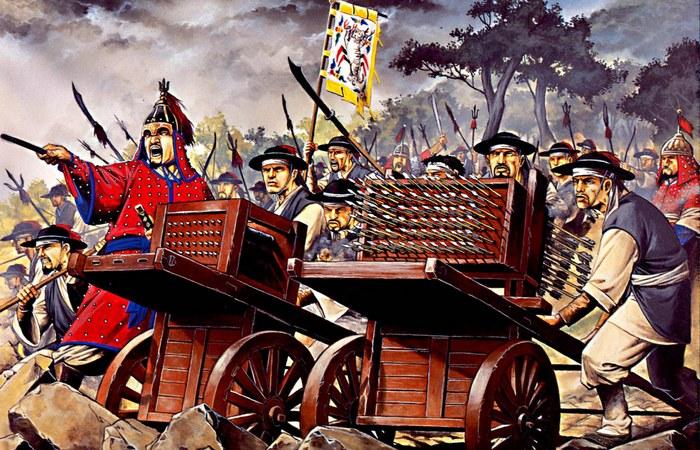 Средневековые войны в Китае.
