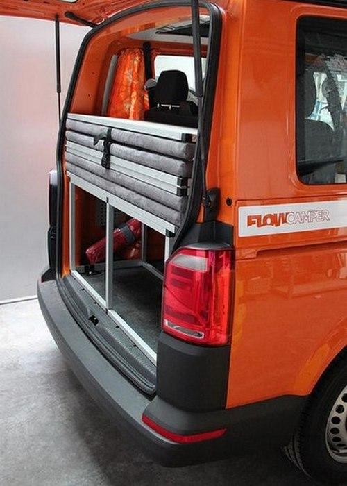 Задний багажник у Flow Camper.