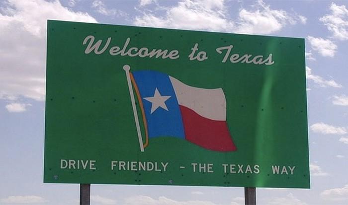 Флаг Техаса.
