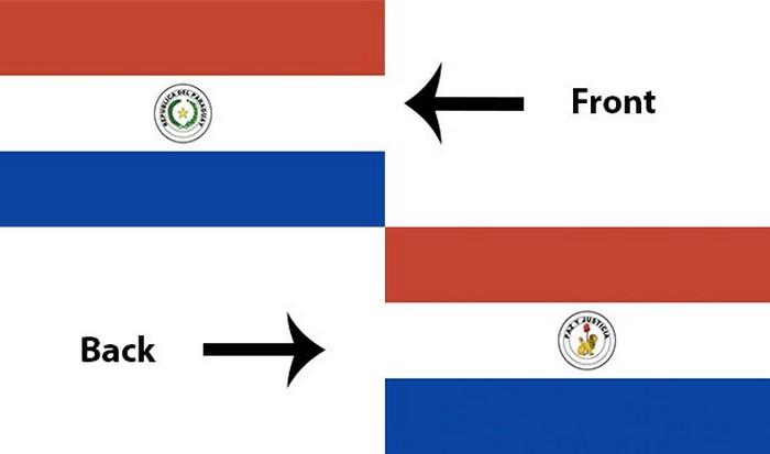 Флаг Парагвая.