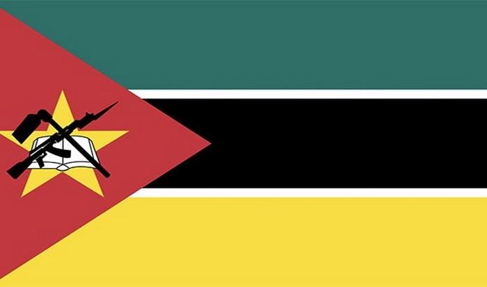 Флаг Мозамбика.